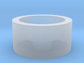 Part 02 D (led holder) in Smooth Fine Detail Plastic