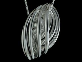 Rosett - Seven in Fine Detail Polished Silver