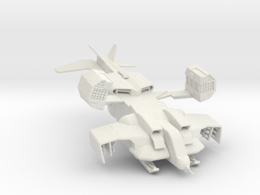 UD-4LW Dropship 160 scale in White Natural Versatile Plastic