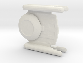 Oberth Transport variant in White Natural Versatile Plastic