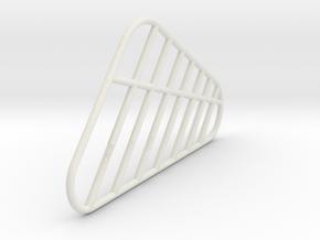 Jet Jaguar Antenae Piece in White Natural Versatile Plastic