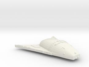 3125 Scale Hydran Antelope Hunter DW Escort CVN in White Natural Versatile Plastic