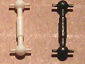 MRC/Roundhouse/Athearn 2-8-0 & 2-6-0 Drive Shaft N in Smooth Fine Detail Plastic