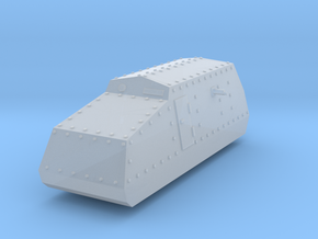 Tank Pilsudskiego  1:144 in Smooth Fine Detail Plastic
