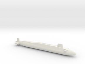 Vanguard-class SSBN, Full Hull, 1/2400 in White Natural Versatile Plastic