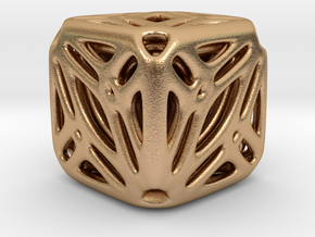 Nested Tessellated Cube in Natural Bronze