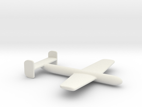 (1:144) Messerschmitt Glide Bomb FG 03 in White Natural Versatile Plastic