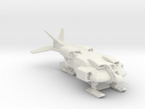 UD-4L-W Cheyenne Dropship 285 scale in White Natural Versatile Plastic