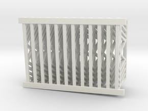 hurricane fence for use on downdraft in White Natural Versatile Plastic