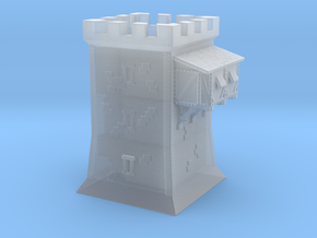 Medieval tower / keep in Smooth Fine Detail Plastic