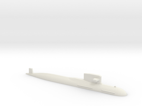 PLA[N] 093B Submarine, 1/2400 in White Natural Versatile Plastic