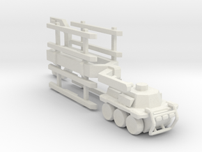 A-CMa1 Truck and Trailer 160 scale in White Natural Versatile Plastic