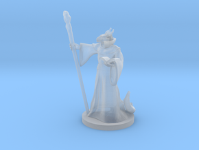Dragonborn Wizard Male 2 in Smooth Fine Detail Plastic