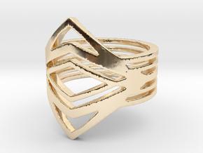 Diamond eyes Ring in 14K Yellow Gold: 5 / 49
