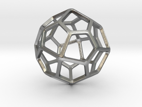 Pentagonal Icositetrahedron in Natural Silver: Small