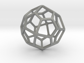 Pentagonal Icositetrahedron in Gray PA12: Small