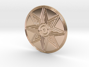 Ishtar Pendant in 14k Rose Gold Plated Brass