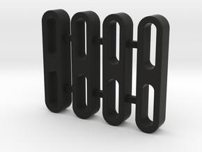 Traxxas TRX-4, Rock Slider Spacer, 5mm Thick in Black Premium Versatile Plastic