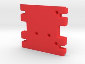 Krazed Builds Losi Skid in Red Processed Versatile Plastic