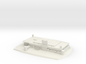 Subterrain Bunker Complex in White Natural Versatile Plastic