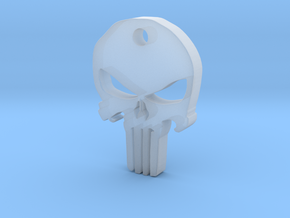 Punisher Pendant in Smoothest Fine Detail Plastic