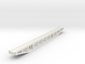 Z Concrete Bridge  in White Natural Versatile Plastic