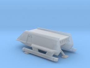 1/350 TOS Shuttlecraft with Landing Gear in Smooth Fine Detail Plastic