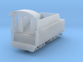 Polish Narrow Gauge Tender for Px48 Ze scale 1:220 in Smoothest Fine Detail Plastic