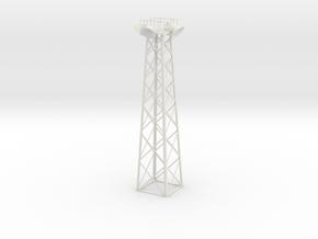 Light Tower  in White Natural Versatile Plastic