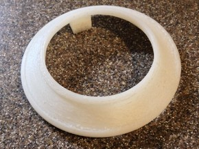 Horn Button Clamp, 1929 Oakland, Ver.1 in White Natural Versatile Plastic