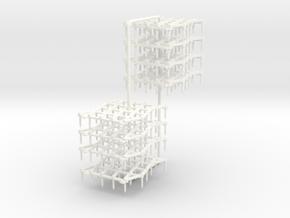 1/87 Zinkenfelder in White Processed Versatile Plastic: 1:87 - HO