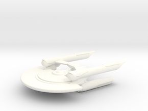 USS Newton in White Processed Versatile Plastic