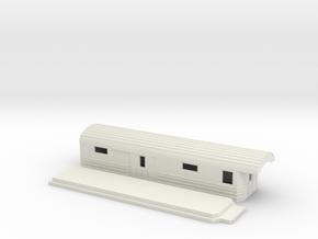 F5a - Swedish passenger wagon in White Natural Versatile Plastic