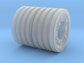 1/87 Satz Radgewichte ZT303_4 Scheiben in Smooth Fine Detail Plastic: 1:87 - HO