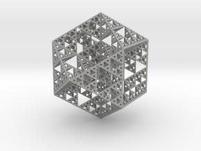 True Sierpiński Fractal in Aluminum