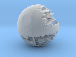 The Death Star II in Smooth Fine Detail Plastic