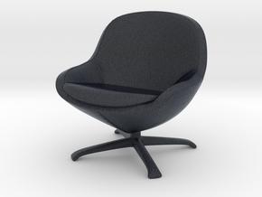 Miniature Veneno Chair - Bo concept in Black PA12: 1:12