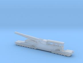 381/40  Italian railway artillery ww1 1/160  in Smooth Fine Detail Plastic