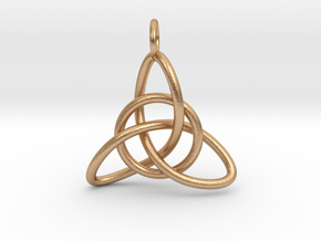 Celtic Knot in Natural Bronze (Interlocking Parts)