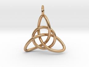 Celtic Knot in Polished Bronze (Interlocking Parts)