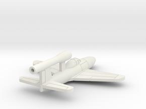 (1:144) Kawanishi Baika Type 2 in White Natural Versatile Plastic