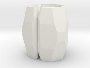 Bead4 in White Natural Versatile Plastic