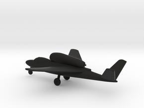 Heinkel He 162D Salamander in Black Natural Versatile Plastic: 1:144
