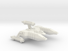 3788 Scale Lyran Refitted Alleycat-E CVN in White Natural Versatile Plastic