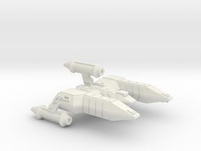 3788 Scale Lyran Refitted Alleycat-E CVN in White Natural Versatile Plastic