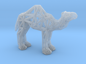 Dromedary Camel (adult) in Smooth Fine Detail Plastic
