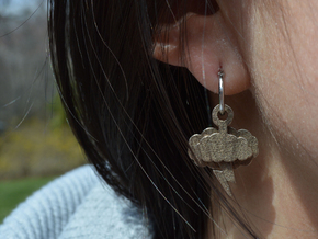 Stormy Day Earrings in Stainless Steel