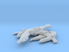 Breen Warship 1/7000 in Smooth Fine Detail Plastic