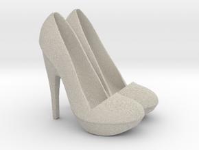 Shoe Phone/Tablet holder in Natural Sandstone
