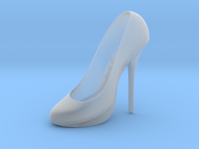 Left Classic Pumps Shoe in Smooth Fine Detail Plastic